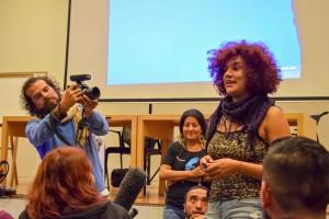 """Arítza Ríos hablando de su documental """"Ellas las que me habitan"""""""