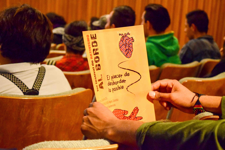 Afiche del I Festival de Artivismo Al Borde