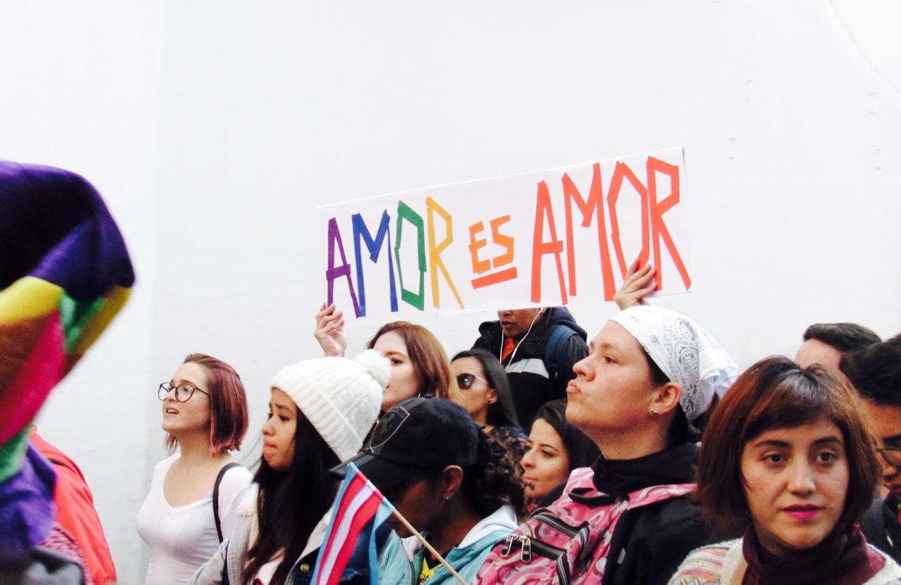 Marcha LGBTI  Sentimos Diverso - 12 de 25